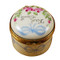 Limoges Imports Blue First Tooth Limoges Box