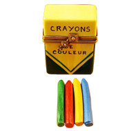 Limoges Imports Crayon Box Limoges Box