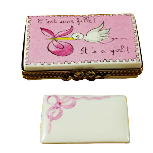 Limoges Imports It'S A Girl! Limoges Box