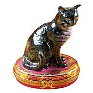 Limoges Imports American Wirehair Limoges Box