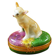 Limoges Imports Chihuahua Limoges Box