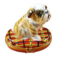 Limoges Imports Bulldog Limoges Box