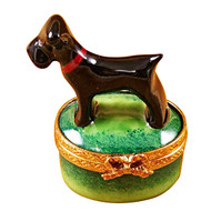 Limoges Imports Small Scottie Limoges Box
