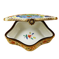 Limoges Imports Japanese 5 Sided Box Limoges Box