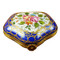 Limoges Imports 5 Sided Blue Box Limoges Box