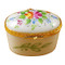 Limoges Imports Flowery Oval Limoges Box