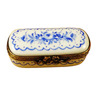 Limoges Imports Blue Delft Rectangle Limoges Box