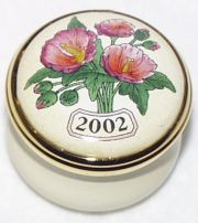 Halcyon Days 2002 Mini Year Box