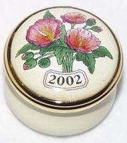 Halcyon Days 2002 Mini Year Box