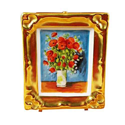Limoges Imports Van Gogh Poppies Limoges Box
