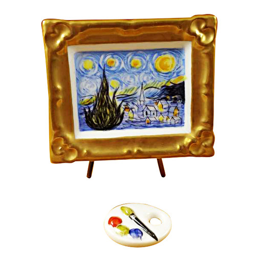 Limoges Imports Stary Stary Night Limoges Box