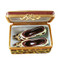 Limoges Imports Leopard Shoe Box W/Shoes Limoges Box