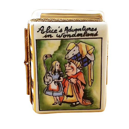 Limoges Imports Alice In Wonderland Book Limoges Box