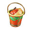 Limoges Imports Pumpkin In Pail Limoges Box