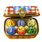 Limoges Imports Easter Eggs W/Chick Limoges Box