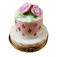 Limoges Imports Wedding Cake - Small Limoges Box