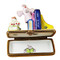 Limoges Imports Halloween Bookcase Limoges Box