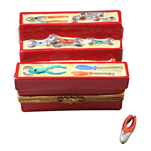 Limoges Imports Tool Box Limoges Box