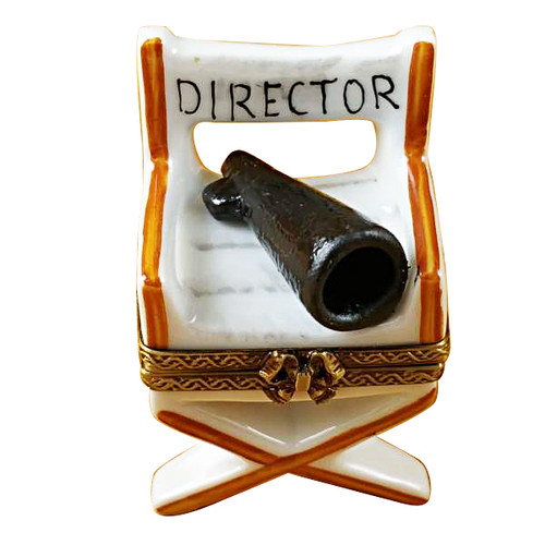 Limoges Imports Directors Chair Limoges Box