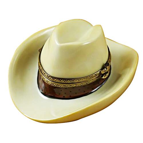 Limoges Imports Cowboy Hat Limoges Box