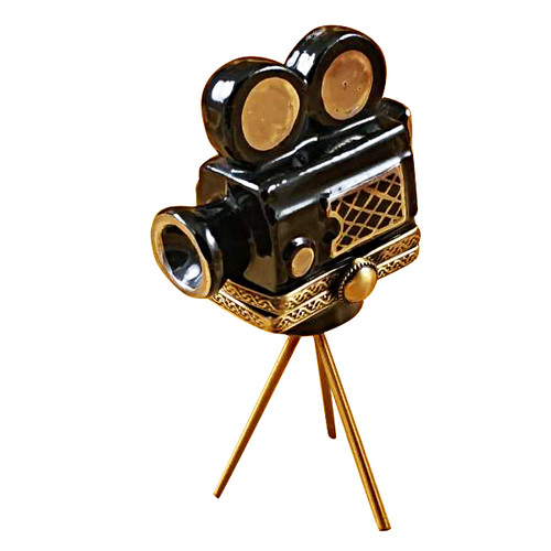 Limoges Imports Movie Camera Limoges Box