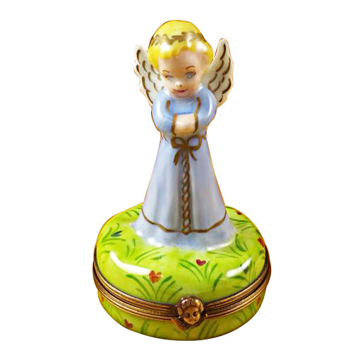 Limoges Imports Blue Angel Limoges Box