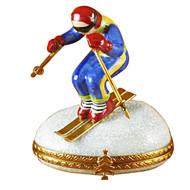 Limoges Imports Skier Limoges Box