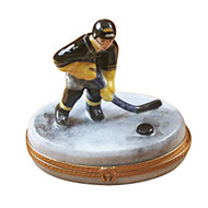 Limoges Imports Hockey   Player Limoges Box