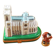 Limoges Imports Notre Dame W/Hunchback Limoges Box