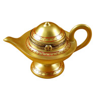 Limoges Imports Aladdin Lamp Limoges Box
