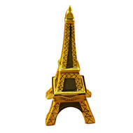 Limoges Imports Gold Eiffel Tower Limoges Box