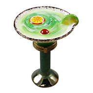 Limoges Imports Margarita Glass Limoges Box
