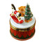 Limoges Imports Christmas Drum W/Toys Limoges Box