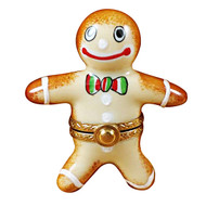 Limoges Imports Gingerbread Man Limoges Box