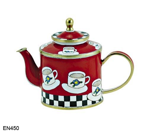 EN450 Kelvin Chen Tea Cups Enamel Teapot