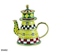 EN462 Kelvin Chen Lighthouse Enamel Teapot