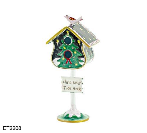 ET2208 Kelvin Chen Christmas Tree Birdhouse