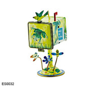 ES0032 Kelvin Chen Frog Mailbox Hinged Stamp Box