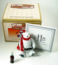 Coca-Cola Polar Bear with Coke Bottle PHB