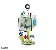 ES0036 Kelvin Chen Butterflies Mailbox Hinged Stamp/Placecard Box