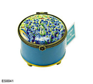 ES0041 Kelvin Chen Vincent Van Gogh Irises Stamp Box