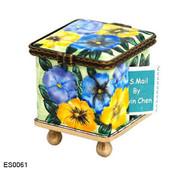 ES0061 Kelvin Chen Pansy Stamp Box