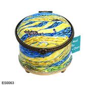 ES0063 Kelvin Chen Vincent Van Gogh Man in Field Stamp Box