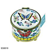 ES0019 Kelvin Chen Butterfly Stamp Box
