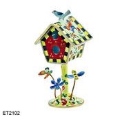 ET2102 Kelvin Chen Butterfly and Flower Birdhouse