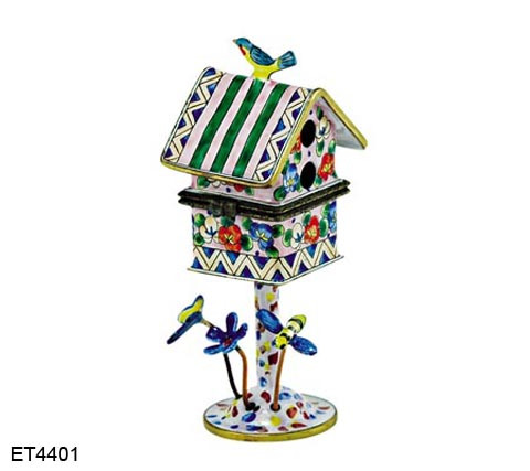 ET4401 Kelvin Chen Morning Glory Hinged Birdhouse