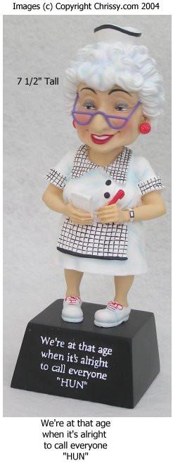 Westland HUN Bobble Figurine Biddy