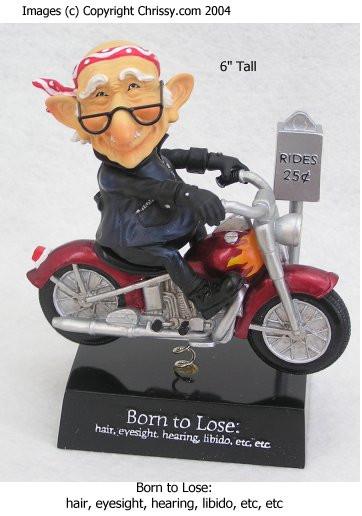 Westland Born to Lose Bobble Figurine Coot