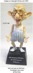 Westland Old Fart Bobble Figurine Coot