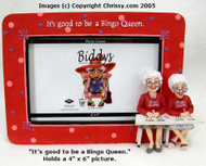 Westland The Biddy Ladies Bingo  4x6 Picture Frame